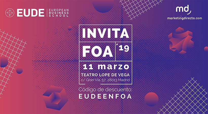 Invitación Al Foa 2019 El Evento Del Año Eude Business School