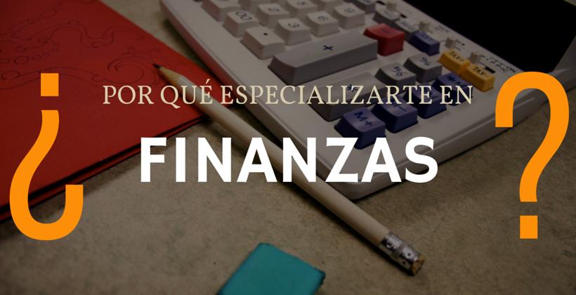 especializarse en finanzas