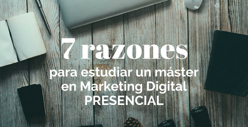 estudiar un master marketing digital