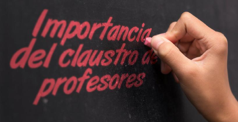 importancia claustro profesores