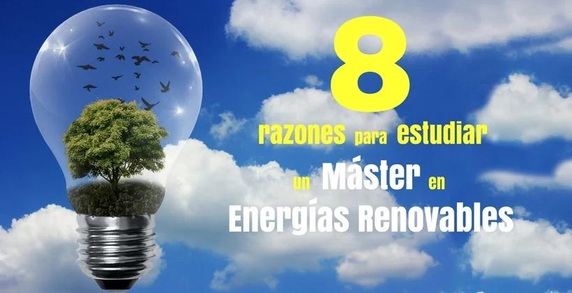 razones estudiar energías renovables