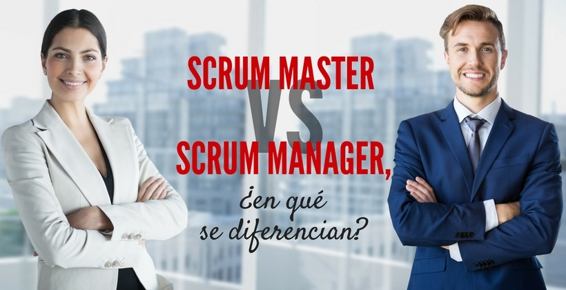 scrum master vs scrum manager