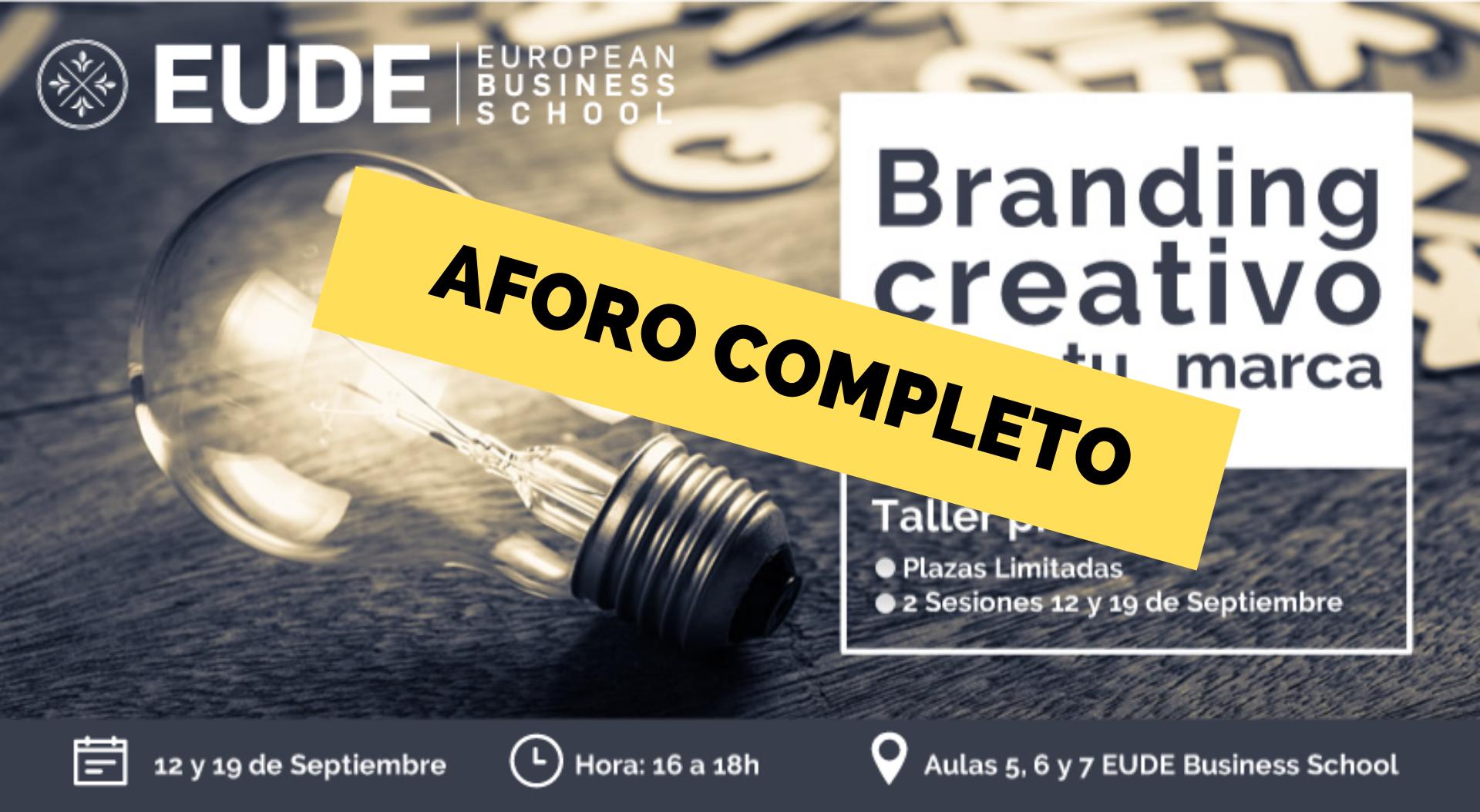 "Foto - Taller Práctico ""Branding creativo: crea tu marca"""