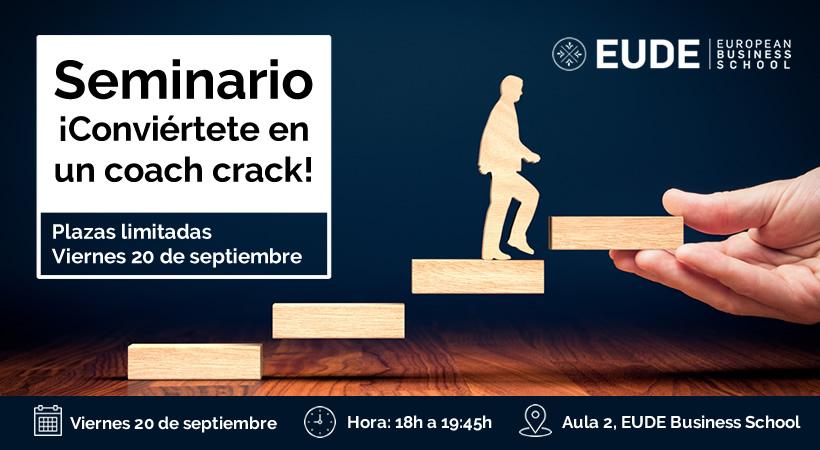 Foto - Seminario ¡Conviértete en un coach crack!