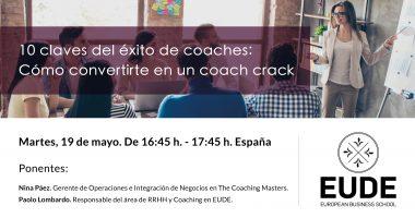 Foto de - 10 claves del éxito de coaches: Cómo convertirte en un coach crack