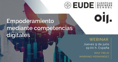 Foto de - Ciclo Webinars OIJ-EUDE | Empoderamiento mediante competencias digitales