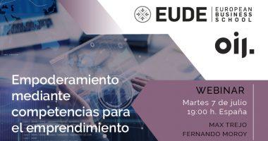 Foto de - Ciclo Webinars OIJ-EUDE | Empoderamiento mediante competencias para el emprendimiento