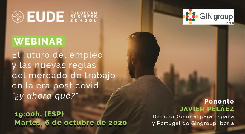 Foto - Webinar | El futuro del empleo y las nuevas reglas del mercado de trabajo en la era post Covid: ¿y ahora qué?