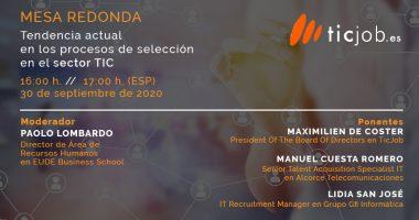 Foto de - Mesa Redonda | Tendencia actual en los procesos de selección en el sector TIC