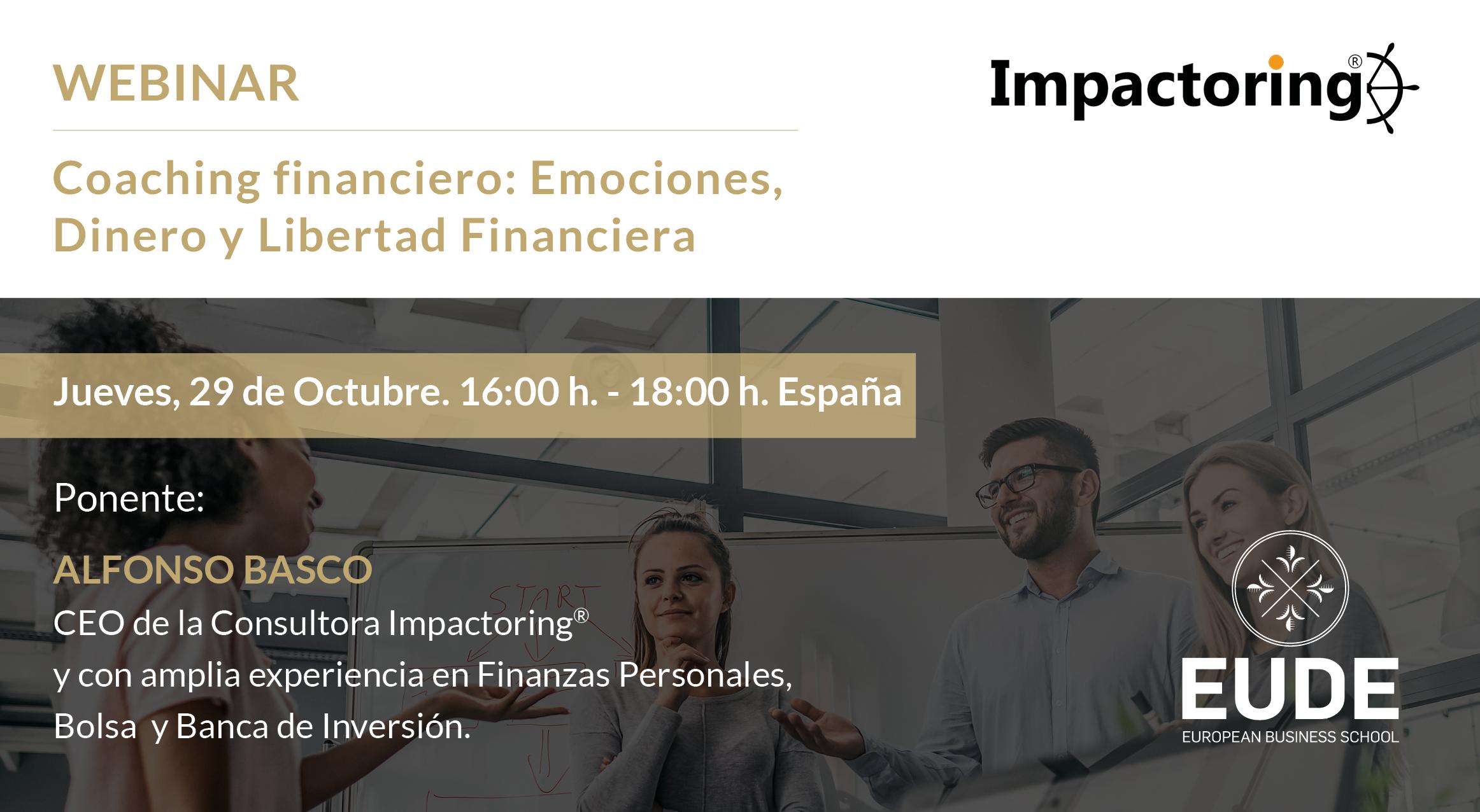 Foto - WEBINAR   Coaching financiero: emociones, dinero y Libertad Financiera