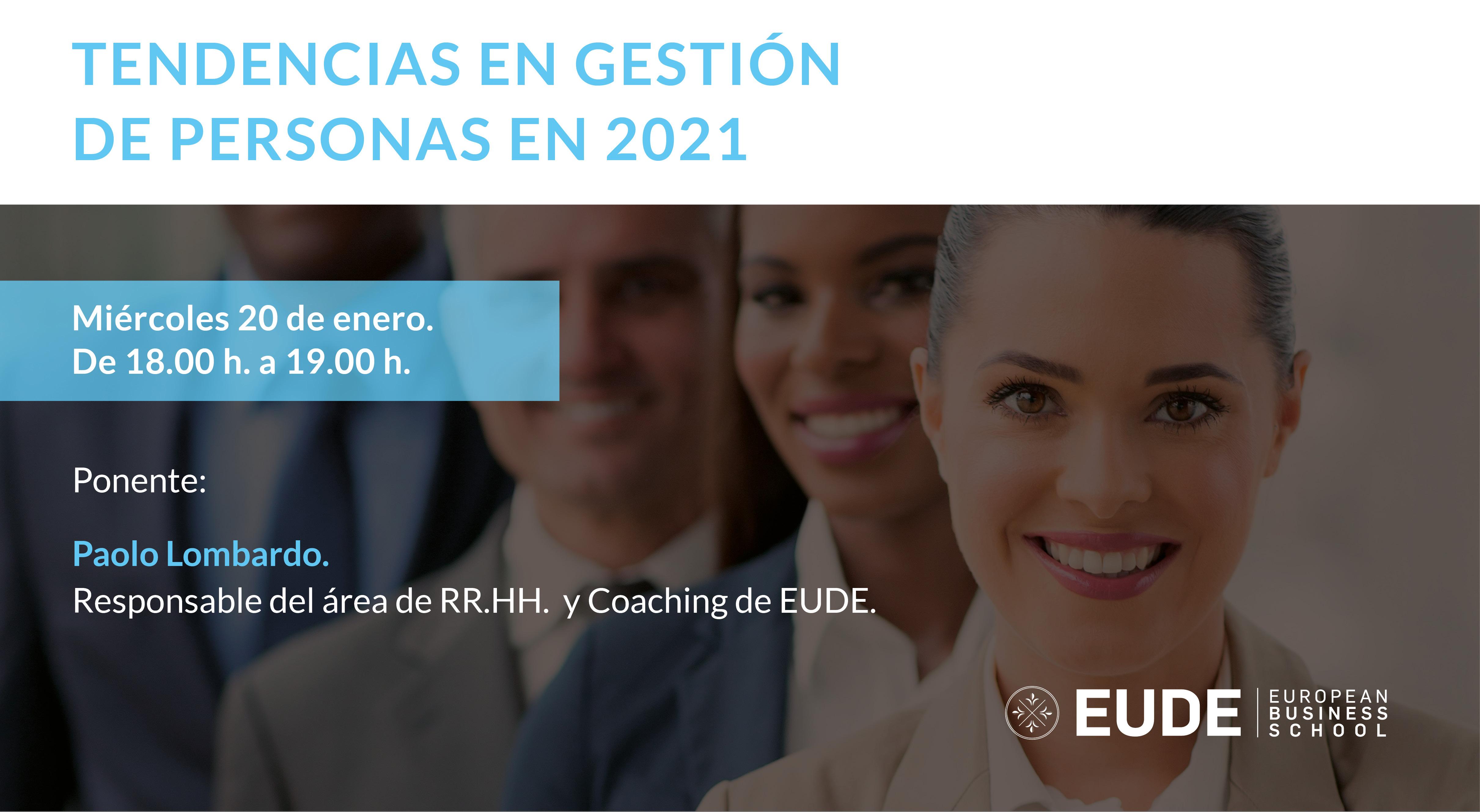 Foto - Webinar   Tendencias en gestión de personas en 2021