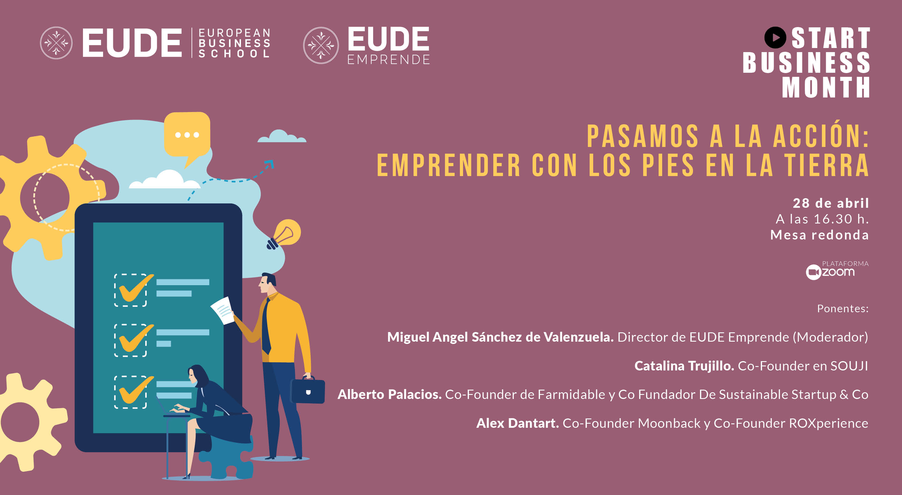 Foto - Start Business Month | Pasamos a la Acción: emprender con los pies en la tierra